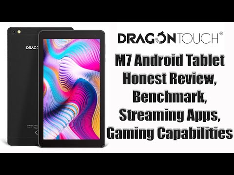 Dragontouch M7 Tablet Review Youtube