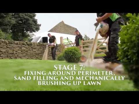 West Yorkshire Artificial Lawns - Promotional Installation Video