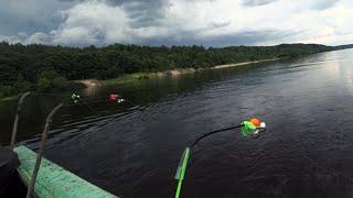 Рыбалка Летом ДАРЫ МАТУШКИ ВОЛГИ Два дня рыбалки на Леща с ночевкой Волга Гроза Костер Уха