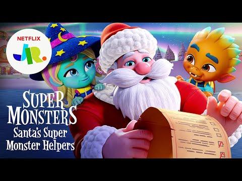 Super Monsters: Santa's Super Monster Helpers Trailer ? Netflix Jr