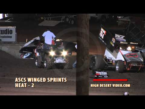 Lucas Oil ASCS Tony Stewart Flip at SNMS