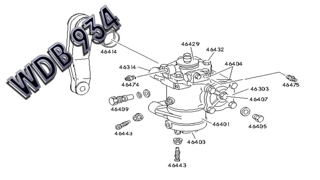mercedes benz actros wdb 934 steering youtube. Black Bedroom Furniture Sets. Home Design Ideas