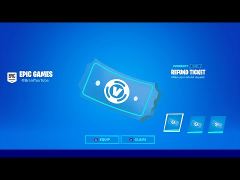 HOW TO GET MORE REFUNDS IN FORTNITE CHAPTER 2 SEASON 3! FORTNITE REFUND TICKETS SYSTEM