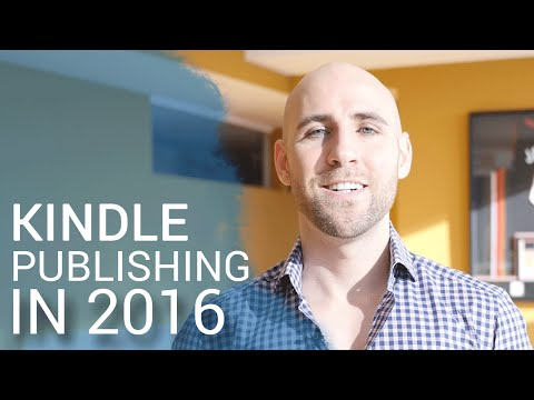 Kindle Publishing In 2016