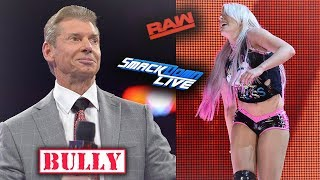 WHY IS MR. MCMAHON PURPOSELY MAKING FUN OF THIS WWE INJURY (WWE RAW)