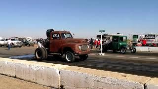 "Roadkill's ""STUBBY BOB""  FAIL at Eagle Field Drags 10/8/2017"