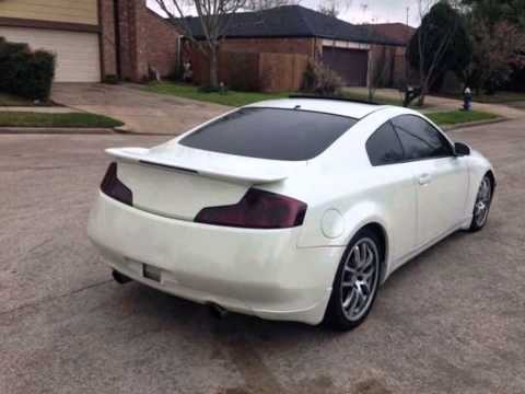 2005 infiniti g35 coupe for sale 9 500 houston tx 77072 youtube. Black Bedroom Furniture Sets. Home Design Ideas