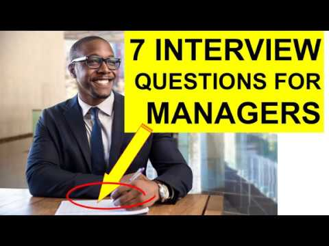 7-manager-interview-questions-and-answers!-(pass)