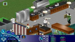 The Sims 1- Visiting Downtown