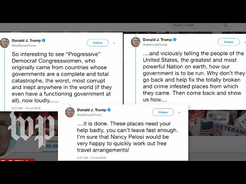 'He knows better': Trump tweet targeting minority, liberal congresswomen prompts outcry