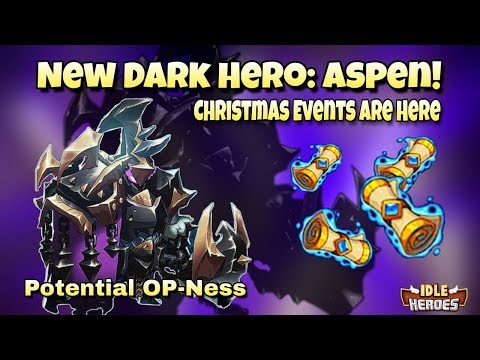 Idle Heroes (O) - New Hero: Aspen! - Christmas Events Are Here! - Event and Hero Breakdown