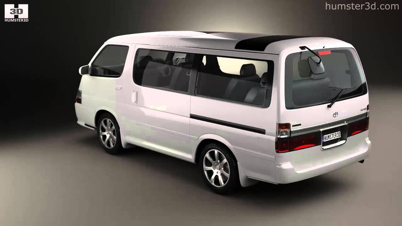 Toyota Hiace Passenger Van Jp 1999 By 3d Model Store