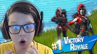 I made my first VICTORY ROYALE on Fortnite! + Skin New ACE SKIN | Fortnite Romania #2