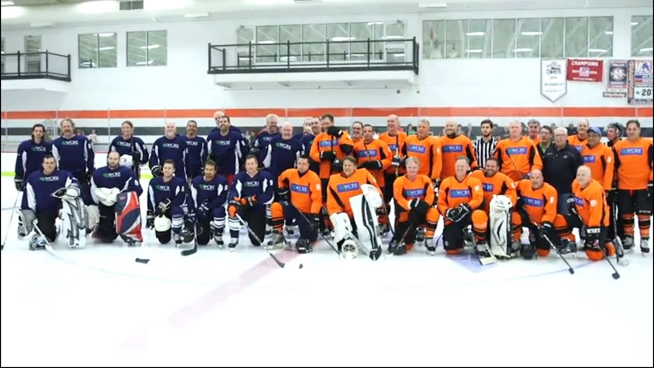WCRE 2019 Celebrity Charity Hockey Event