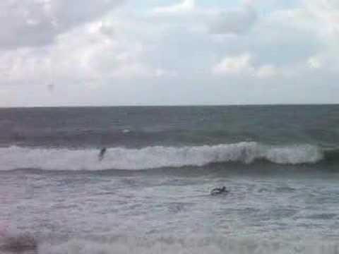 Surfeur à Hendaye