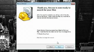 Recover your files and data