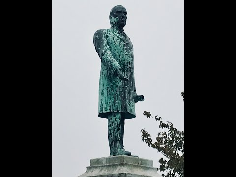 112 Yr Old McKinley Statue Is Assaulted, Looks Like Modern Art