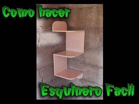 Como hacer un esquinero de mdf f cil paso a paso youtube - Como hacer un sillon paso a paso ...