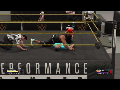 Donald Trump WWE2K17