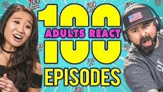 ADULTS REACT TO THE FIRST EPISODE OF ADULTS REACT