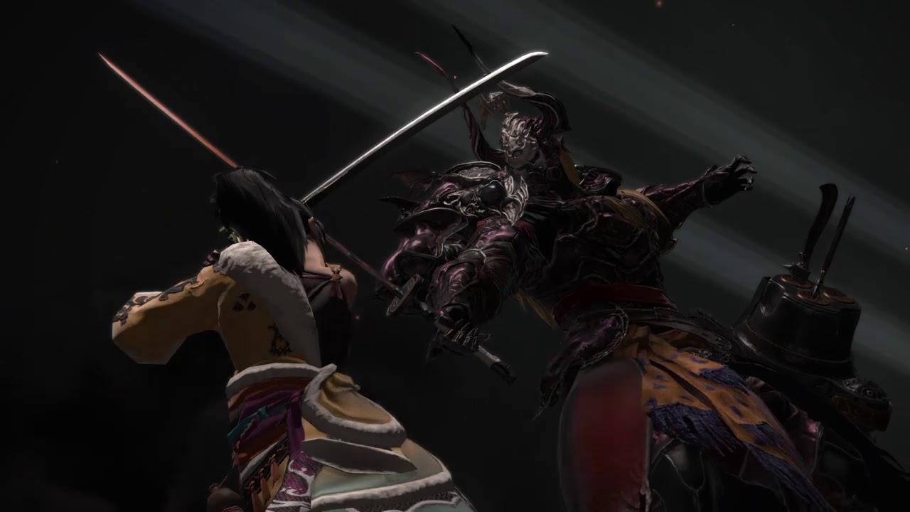 FFXIV Patch 4.56 – Lyse, Yugiri, Hien vs Zenos