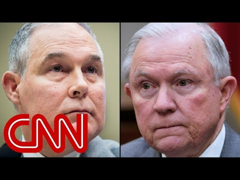 Scott Pruitt appealed to Trump to get Jeff Sessions' job
