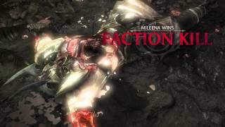 Mortal Kombat X All Special Forces Faction Kills Video