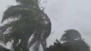 L'île Ste-Marie en plein cyclone IVAN (2008)
