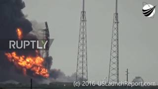 Facebook SpaceX rocket explosion and 11 Slow motion UFO flyby's