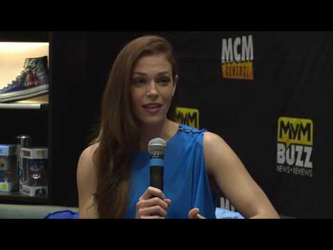 The Mentalist & Colony's Amanda Righetti @ MCM LONDON