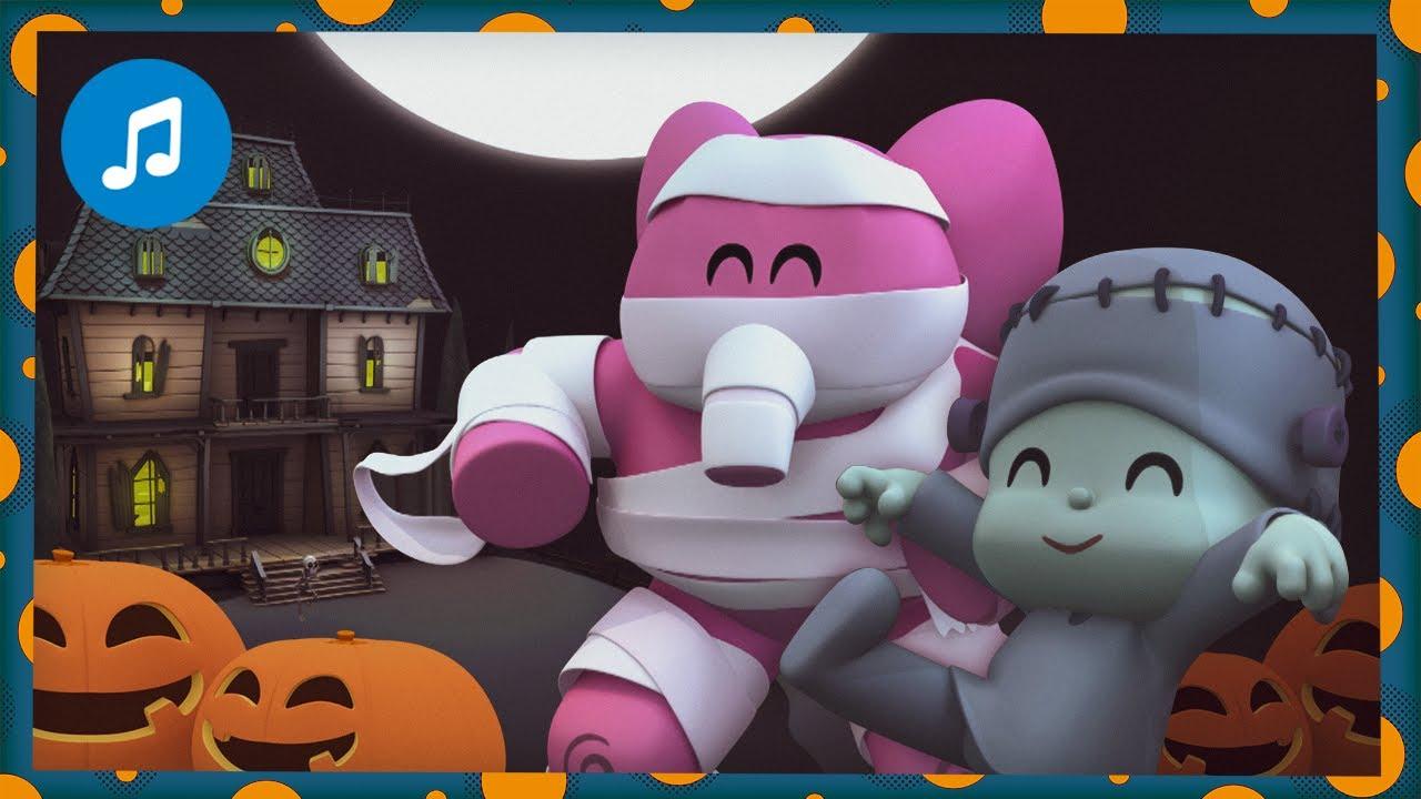 🎃🏚CANCIONES INFANTILES de POCOYÓ - Terror de Halloween 🎃👻  | Caricaturas y dibujos animados