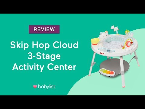 Skip Hop Silver Lining Cloud 3-Stage Activity Center Review Babylist