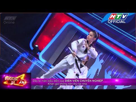 Người bí ẩn | Hot girl taekwondo  | HTV