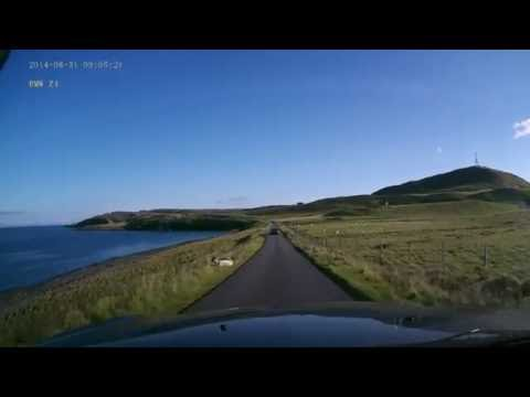 Isle of Skye - Stunning north coastal loop drive from Uig to Portree