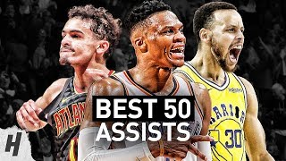 BEST 50 Assists of the 2018-19 NBA Regular Season