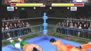 Giant Gram 2000 All Japan Pro Wrestling 3 Gameplay Video