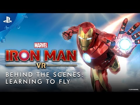 Marvel's Iron Man VR   Behind The Scenes: Learning To Fly   PSVR