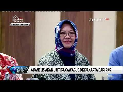 4 Panelis Akan Uji Tiga Cawagub DKI Jakarta dari PKS Mp3