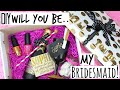 DIY Will You Be My Bridesmaid Gift | Kate Spade Inspired - Wedding Series