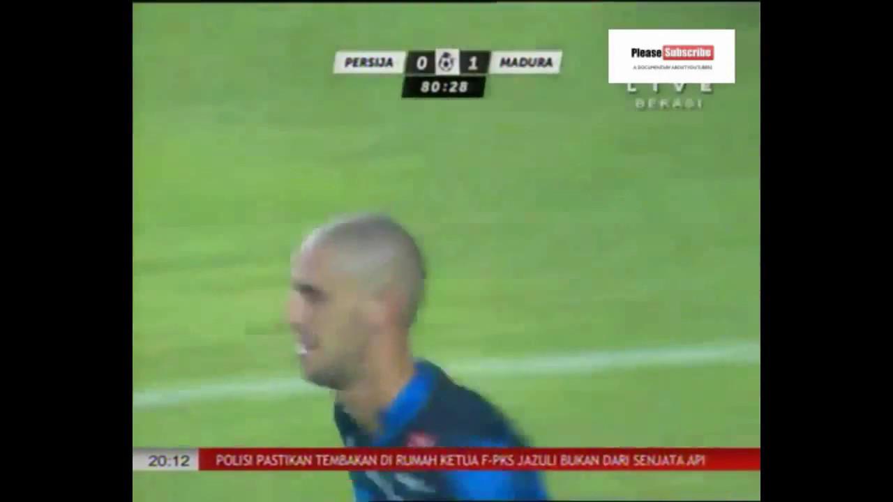 Gol Persija vs Madura united (0-1) liga 1 gojek traveloka ...