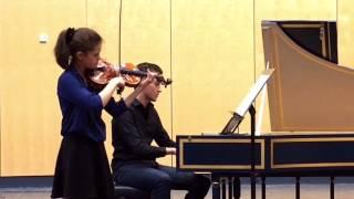 Johann Sebastian Bach, Sonate A-Dur, BWV 1015