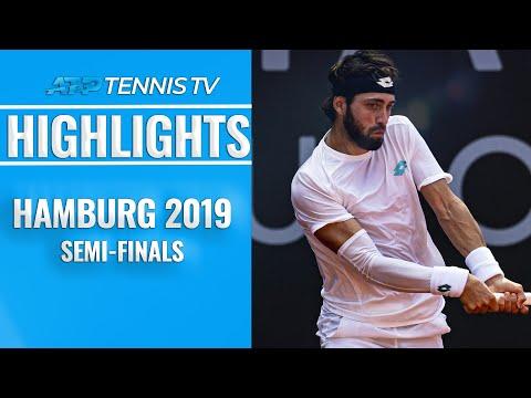 Basilashvili Stuns Zverev in Thriller; Rublev Rolls | Hamburg 2019 Semi-Final Highlights
