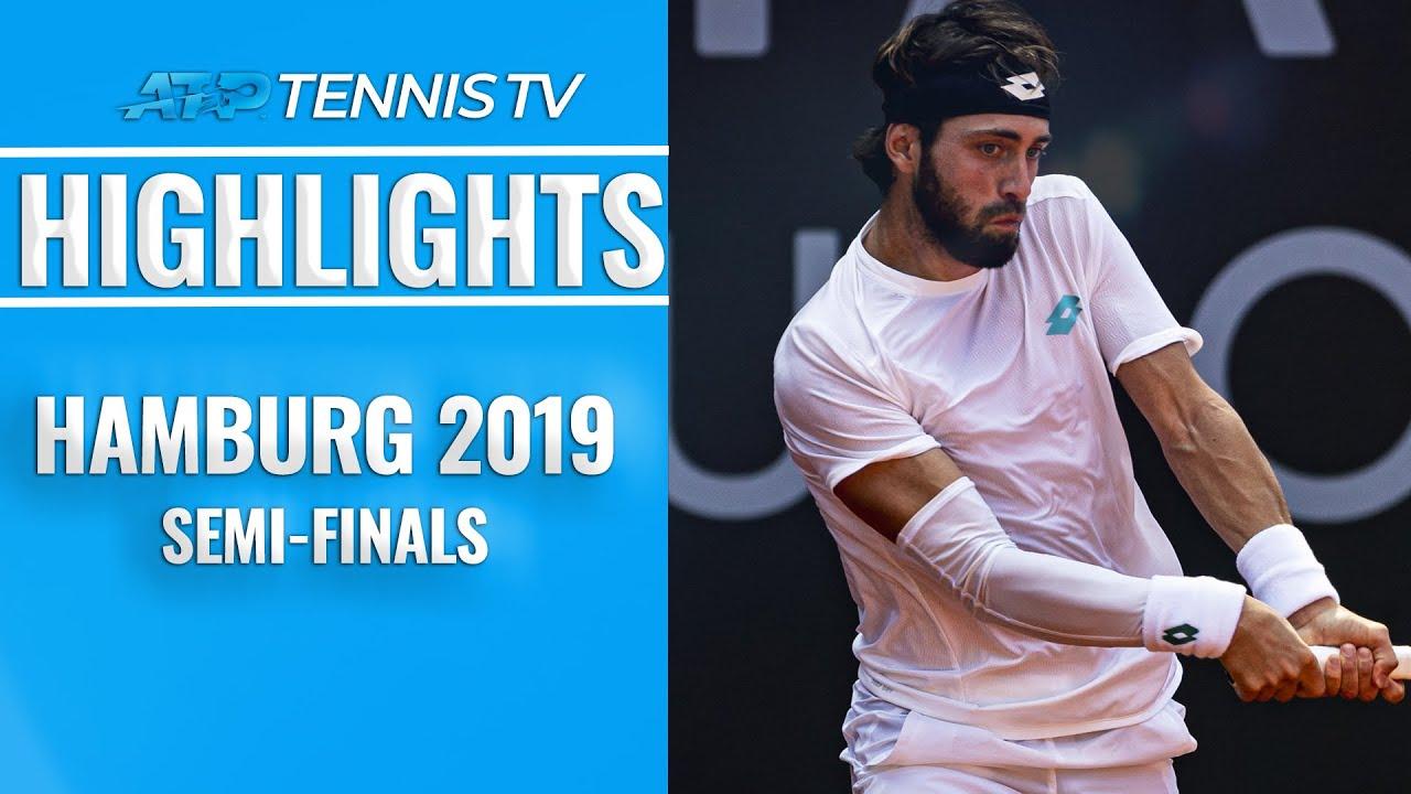 Basilashvili Stuns Zverev In Thriller Rublev Rolls Hamburg 2019 Semi Final Highlights
