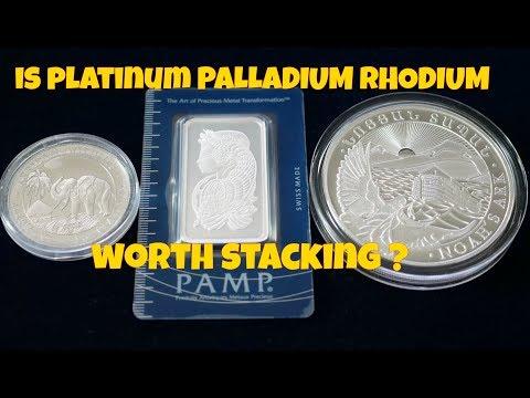 Is Platinum Palladium Rhodium Worth Stacking