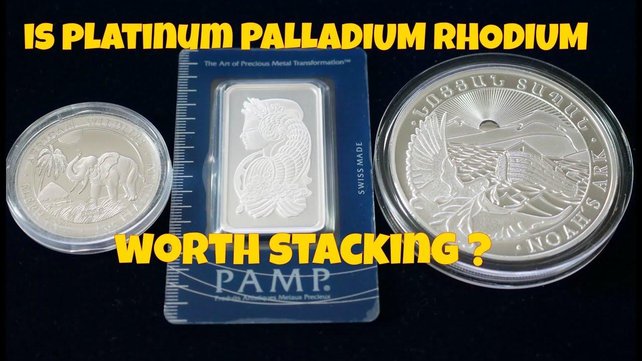 yksityiskohtaiset kuvat alkuun tuotemerkkejä myynti verkossa Is Platinum Palladium Rhodium Worth Stacking