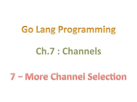 07 07 more channel selection youtube