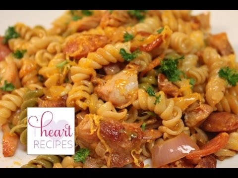 Dinner for two : Chicken and Sausage Pasta – I Heart Recipes