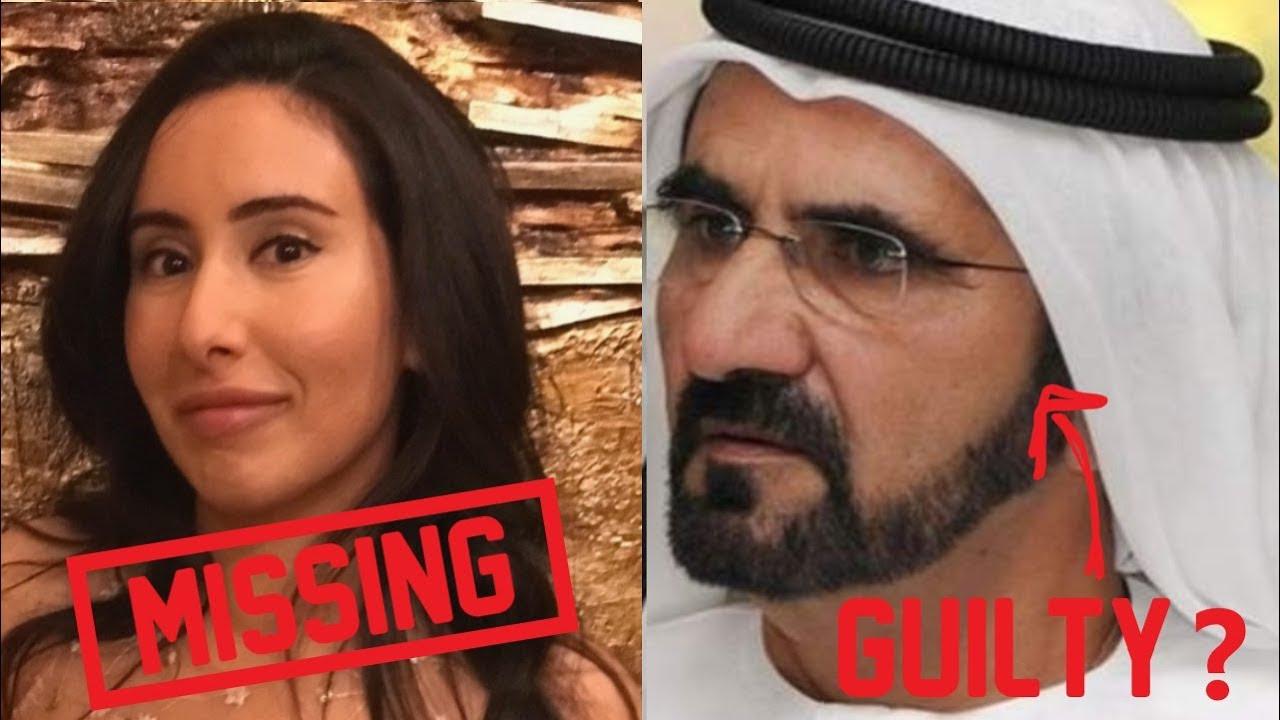 Vegan Princess Latifa missing please help her Princess Haya