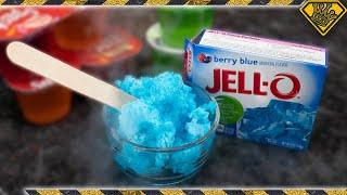 Liquid Nitrogen Jello Slushie