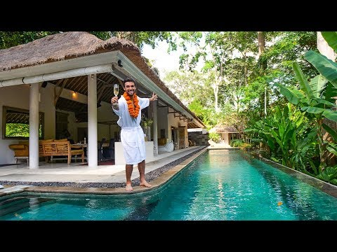 LIVING like a BILLIONAIRE for a DAY in BALI!